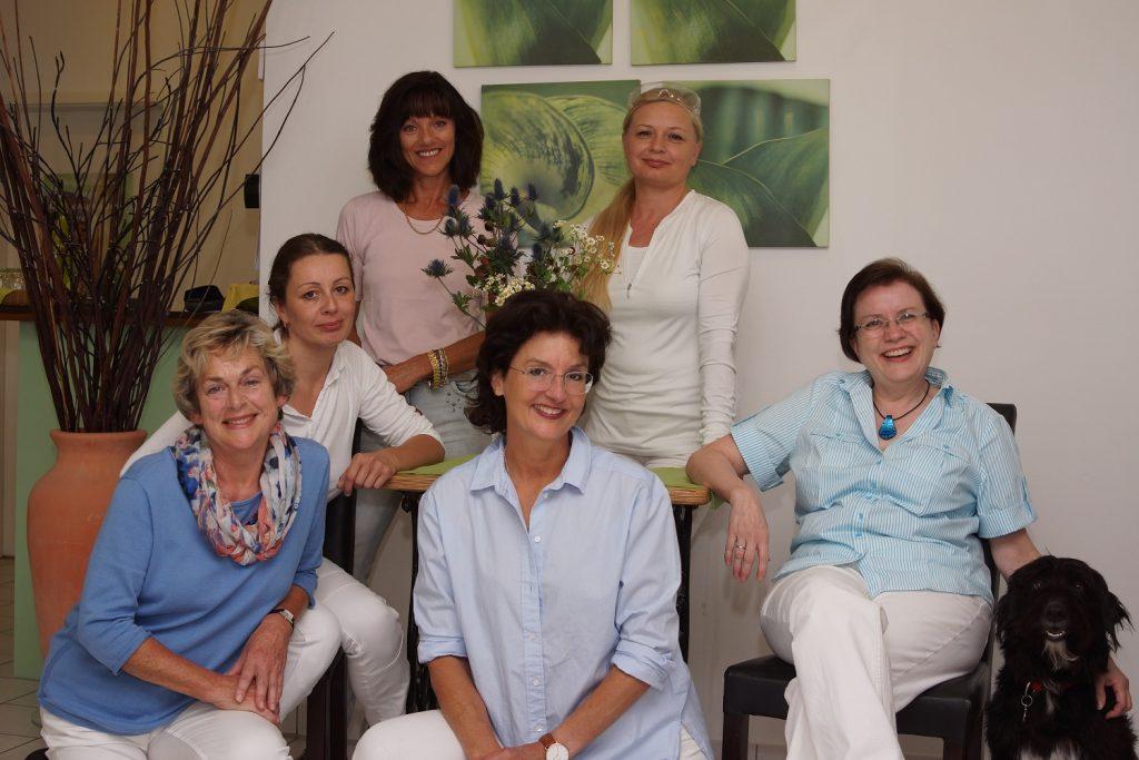 Das Team der Praxis Ursula Leclerc